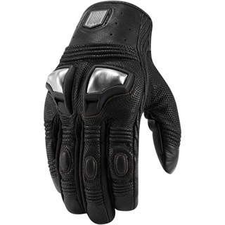 Icon Retrograde gloves - Black XL
