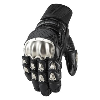 Icon Timax Short gloves Black L