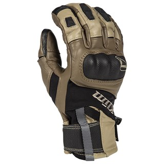 Klim Adventure GTX glove in tan