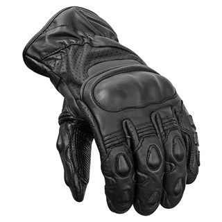Brian Sansom Police Motorcycle Summer gloves in black
