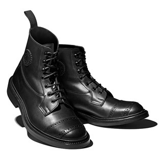 Trickers Riding boots in black
