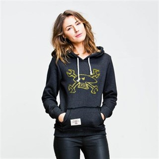 Red Torpedo Guy Martin Spanner Swarm ladies Hoodie anth yellow 14