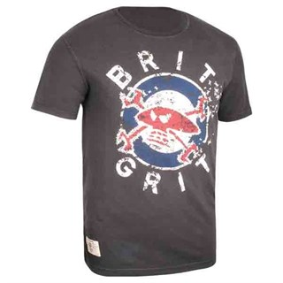 Red Torpedo Brit Grit T-Shirt Grey XL