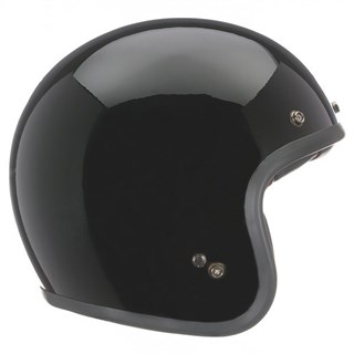 Bell Custom 500 helmet in gloss black