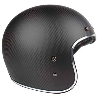 Bell Custom 500 Carbon helmet in matt black