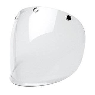 Bell 3 Snap Retro visor in clear