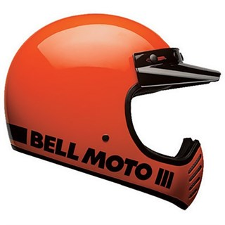 Bell Moto-3 Classic helmet in orange
