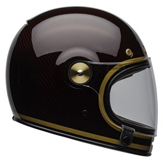 Bell Bullitt Carbon Transcend Gloss helmet in candy red and gold