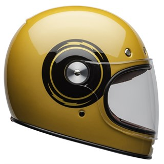 Bell Bullitt DLX Bolt Gloss helmet in yellow 2XL