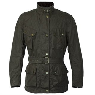 Richa Bonneville jacket in green