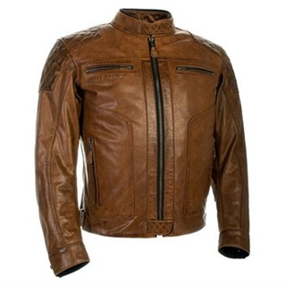 Richa Detroit jacket in cognac