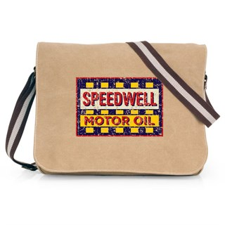 Retro Legends Speedwell Motor Oil Bag
