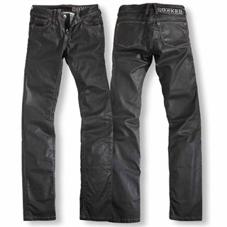 Rokker Diva Ladies jeans - Black W24 L34