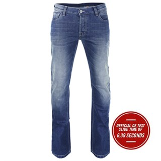 Rokker Rokkertech Slim jeans in light wash W33 L32