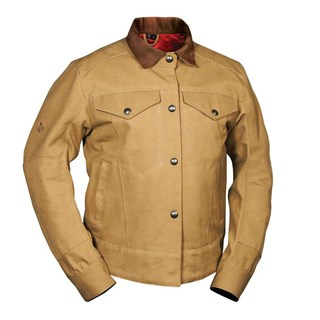 Roland Sands Hesher jacket in brown