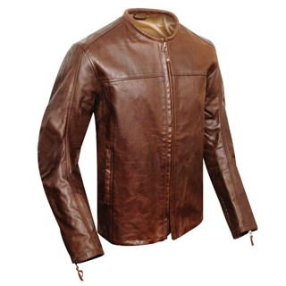 Roland Sands Barfly jacket in tobacco