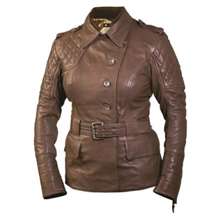 Roland Sands Ladies Oxford jacket - clay S