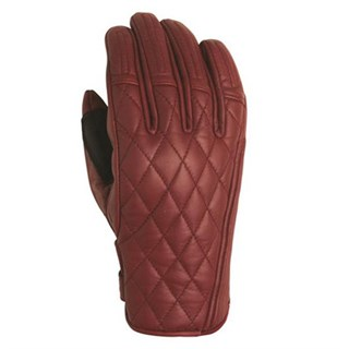 Roland Sands ladies Riot gloves in red