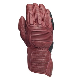 Roland Sands Ace gloves in red