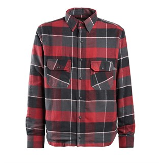 Gorman Plaid Shirt Brick Red 2X