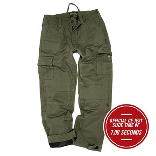Resurgence Cruiser cargo trousers in green