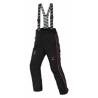 Rukka Suki ladies trousers in black / Pink