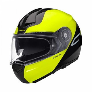 Schuberth C3 Pro Split helmet in yellow