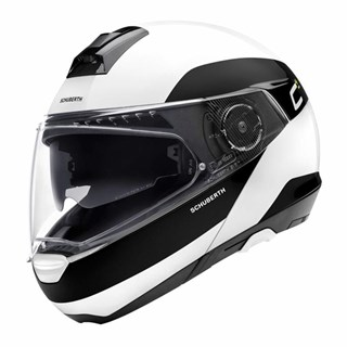 Schuberth C4 Pro Fragment helmet in white