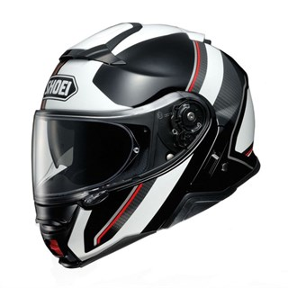 Shoei Neotec 2 Excursion TC6 helmet in white / black