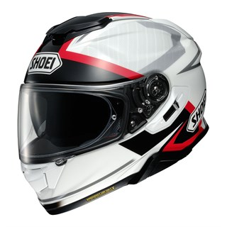 Shoei GT Air 2 Affair TC6 helmet in white / black / red