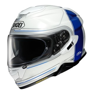 Shoei GT Air 2 Crossbar TC2 helmet in white / blue