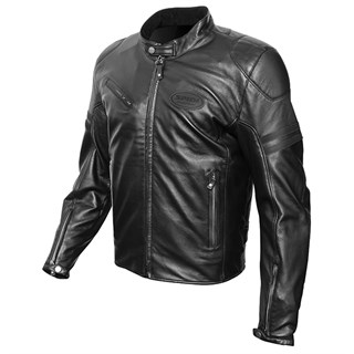 Spidi Ace Leather Jacket in black