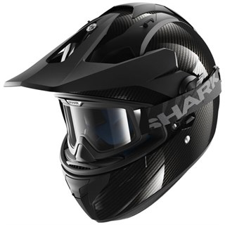 Shark Explore-R Carbon Skin helmet in black