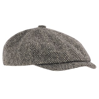 Herringbone Wool Cap 371 61/XL
