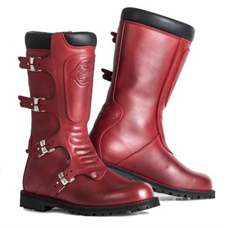 Stylmartin Continental boots in red