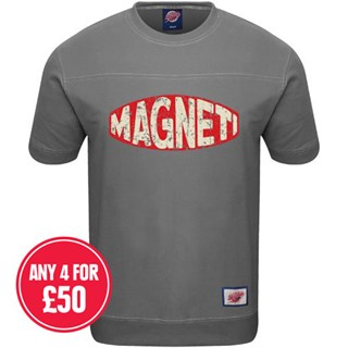 Retro Legends Magneti T-sweat in grey