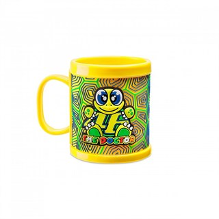 Rossi 46 Kids Mug Yellow Plastic