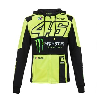 Rossi 2018 Monster hoodie in yellow