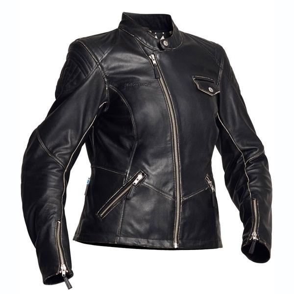Our new ebony boucle moto jacket