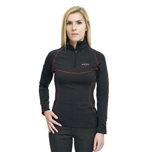 Warm and Safe ladies' heated base layer