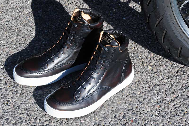 Rokker City Sneaker antique black lifestyle