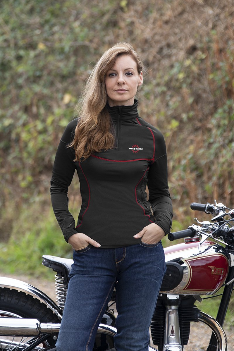 Warm and Safe Generation 4 ladies heated jacket