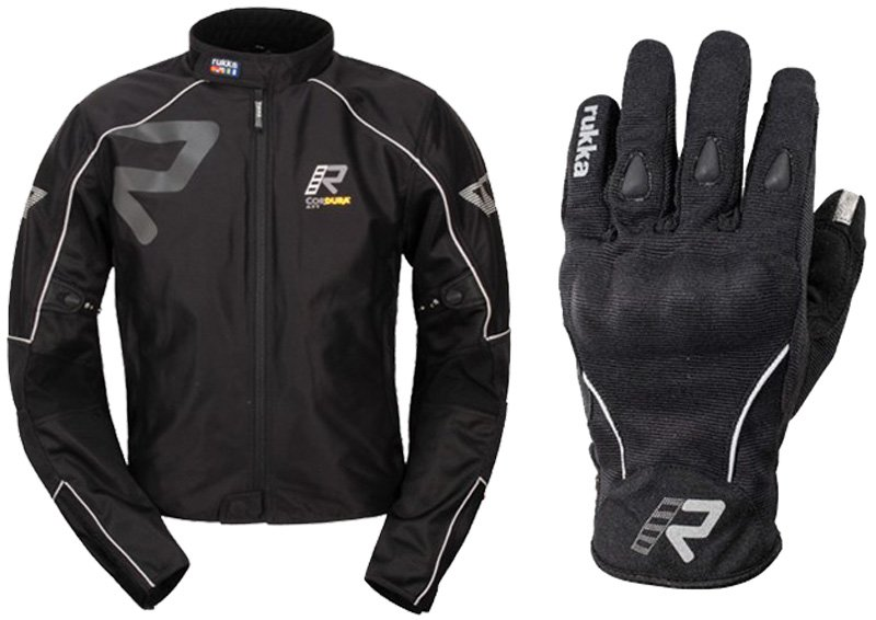 Rukka Forsair glove and Rukka Forsair jacket