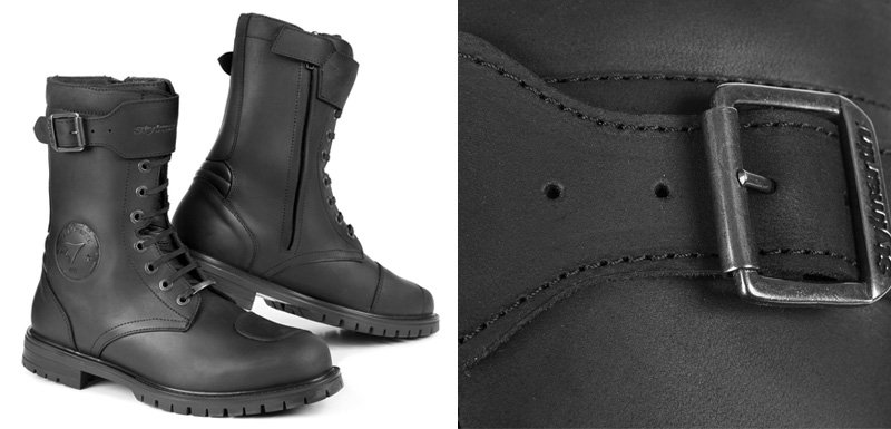 Black Stylmartin Rocket boot now in stock