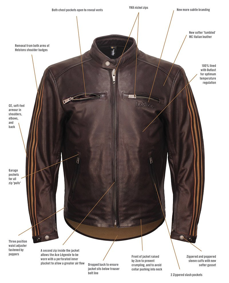 Helstons Ace Légende jacket