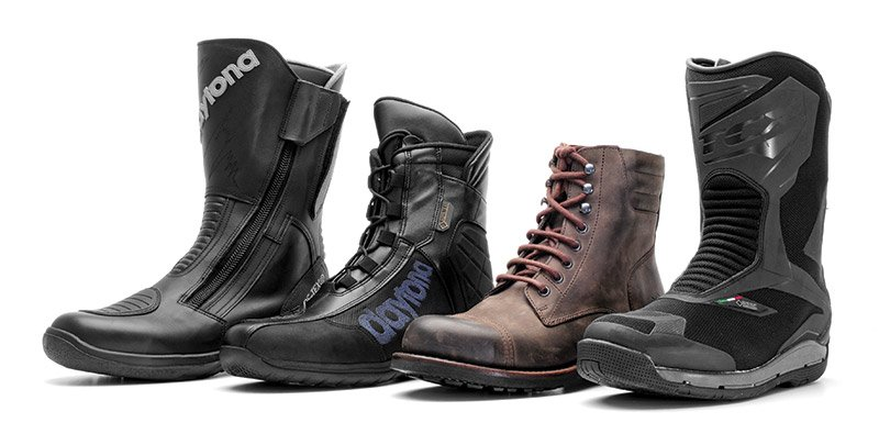 Motorcycle boots for all seasons