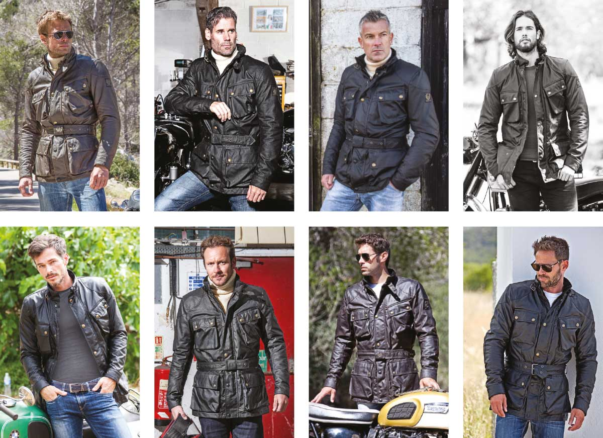 Belstaff Trialmaster 10 ounce jacket product images