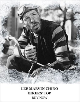 Lee Marvin Chino Bikers Top