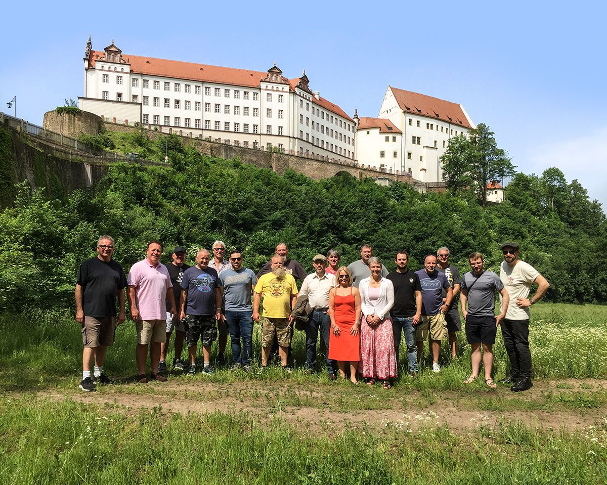Colditz group photo
