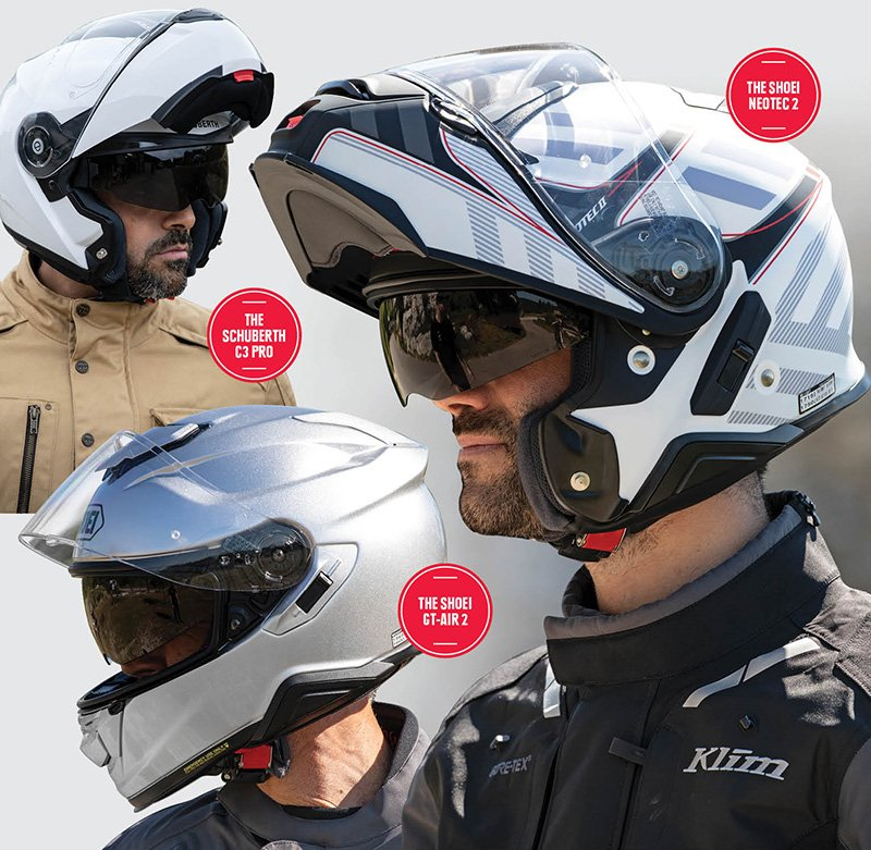 Serious commuting helmets